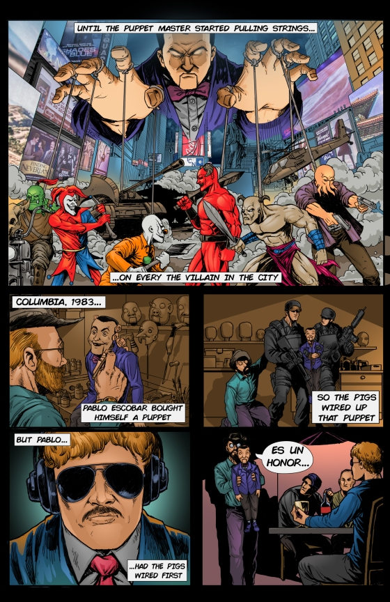 3MV comic page 2 black w TEXT