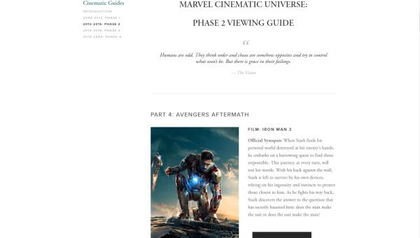 Marvel Guides – Chronicling The Marvel Universe – Webbed Media