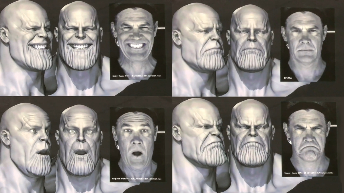 Behind the scenes look at the creation of Thanos in Avengers Infinity War