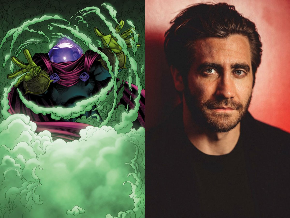 First Look At Jake Gyllenhaal as Mysterio in Spider-Man: Far From Home